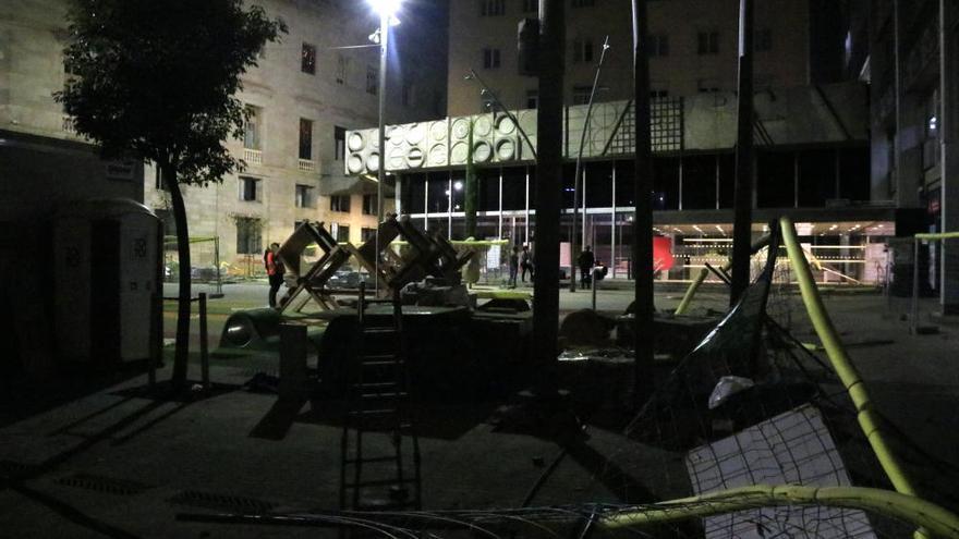 Un detingut en la segona nit d'aldarulls al centre de Barcelona
