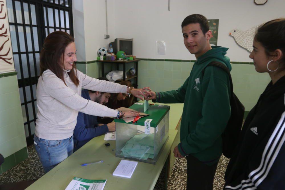 Las elecciones andaluzas, en imágenes