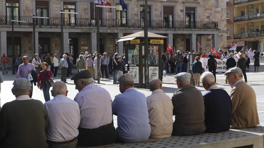 La pandemia reduce la nómina de las pensiones de jubilación en Zamora