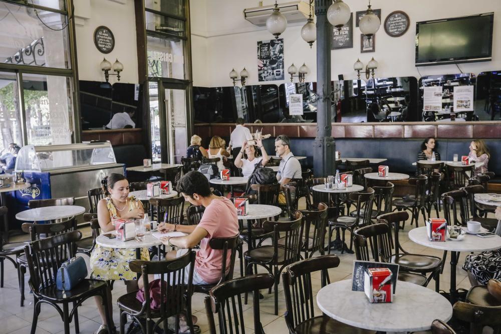 Das Traditionscafé an der Plaça d'Espanya hat am Dienstag (5.9.) zum letzten Mal geöffnet. Die Betrieber können sich die massiv erhöhte Miete nicht mehr leisten.