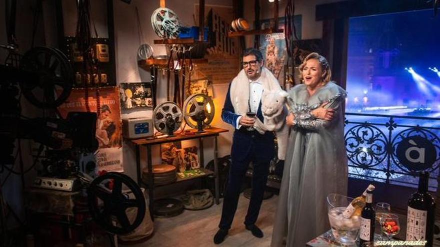 Carolina Ferre y Eugeni Alemany presentarán las campanadas del 2021 de À Punt