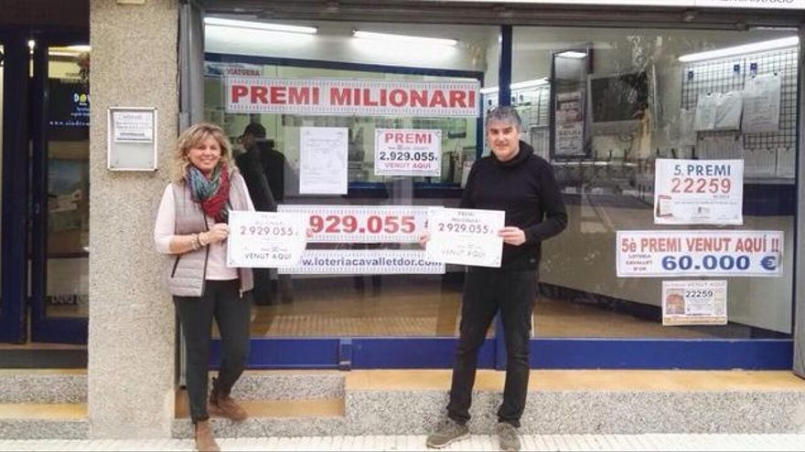 La Bonoloto deixa el premi més quantiós de la província a Llançà: 3 MEUR