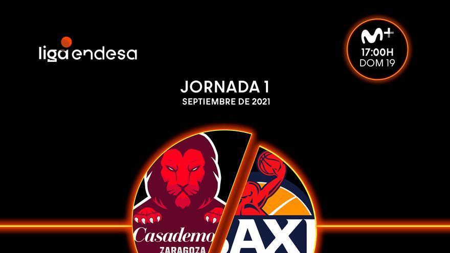El Casademont Zaragoza se enfrentará al Manresa en la primera jornada de la Liga Endesa