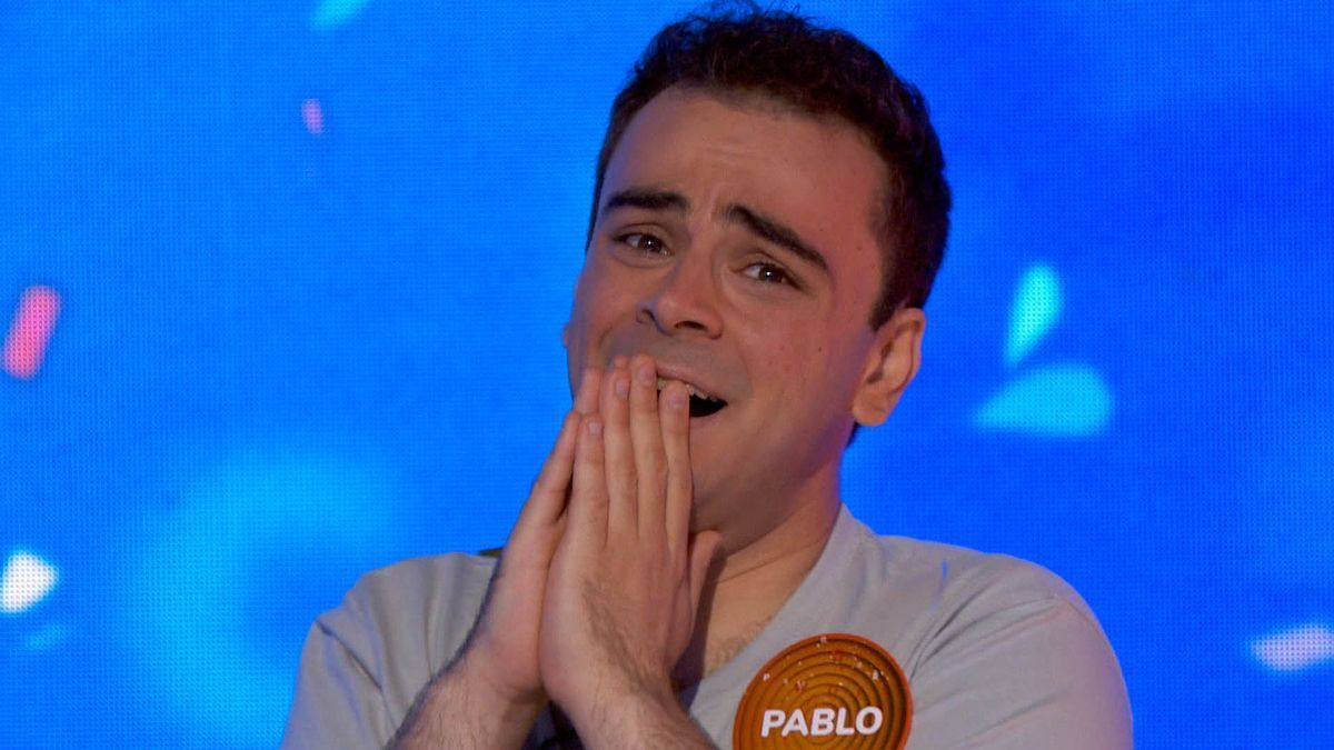 Pablo Díaz, ganador del bote de 1,8 millones de 'Pasapalabra'.
