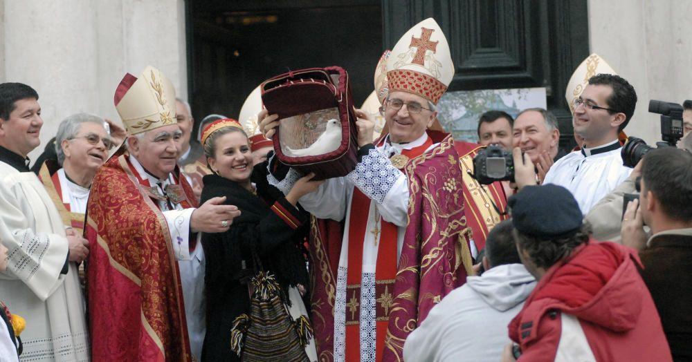 Croacia - La fiesta de San Blas, patron de la ciudad de Dubrovnik.