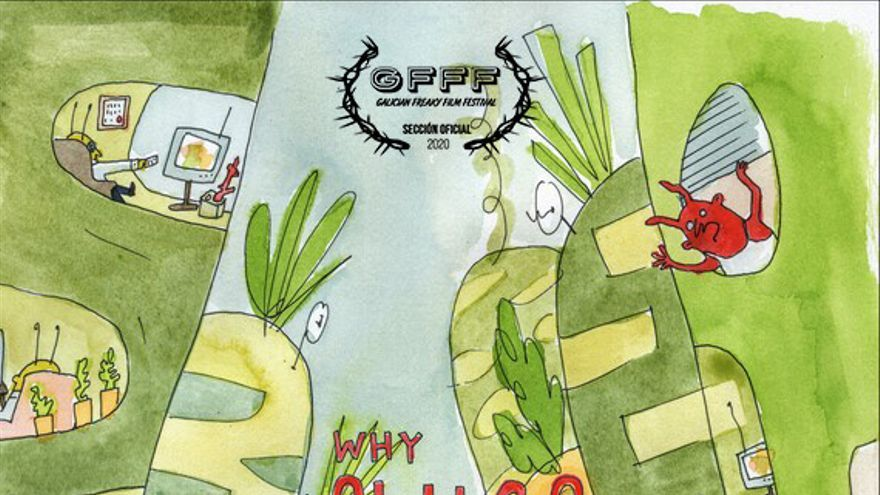 Galician Freaky Film Festival - Bloque curtas: Alimento para o maxín