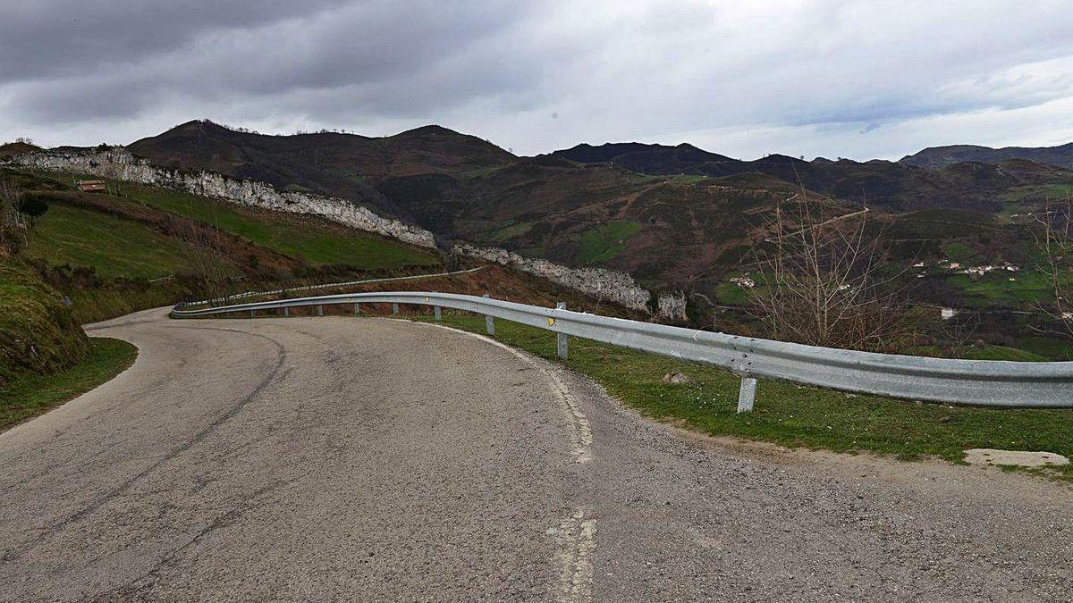 La carretera de La Colladona.