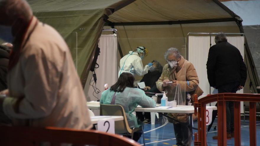 Solo 4 positivos de las 1.298 pruebas en el cribado de coronavirus de Parada del Molino y Zamora Sur