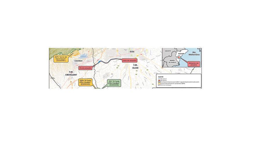 Conectar la estación de AVE con Elche por tren costará más de 33,5 millones de euros