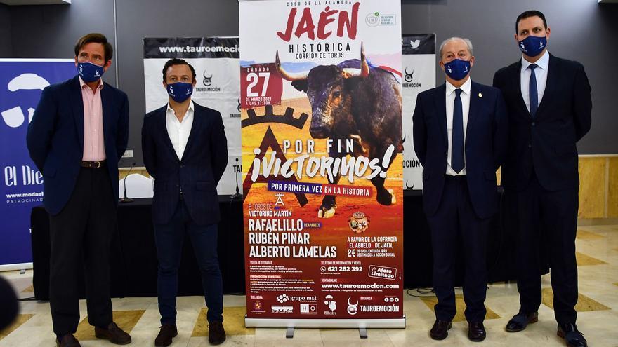 Rafaelillo reaparecerá el próximo día 27 en Jaén