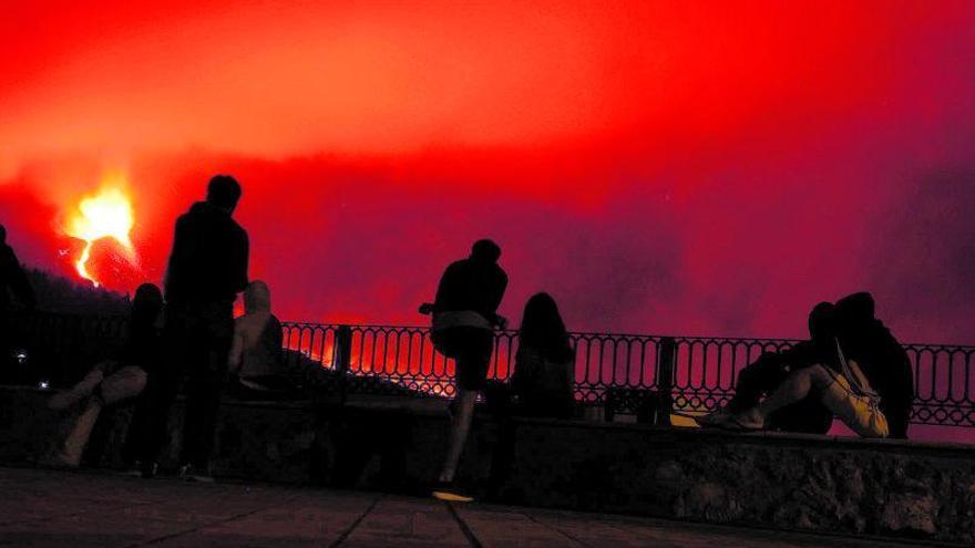 La belleza imperfecta del volcán de La Palma