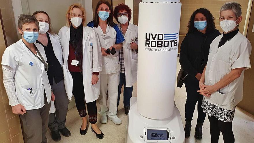 El Trueta incorpora un robot de desinfecció amb llum ultraviolada