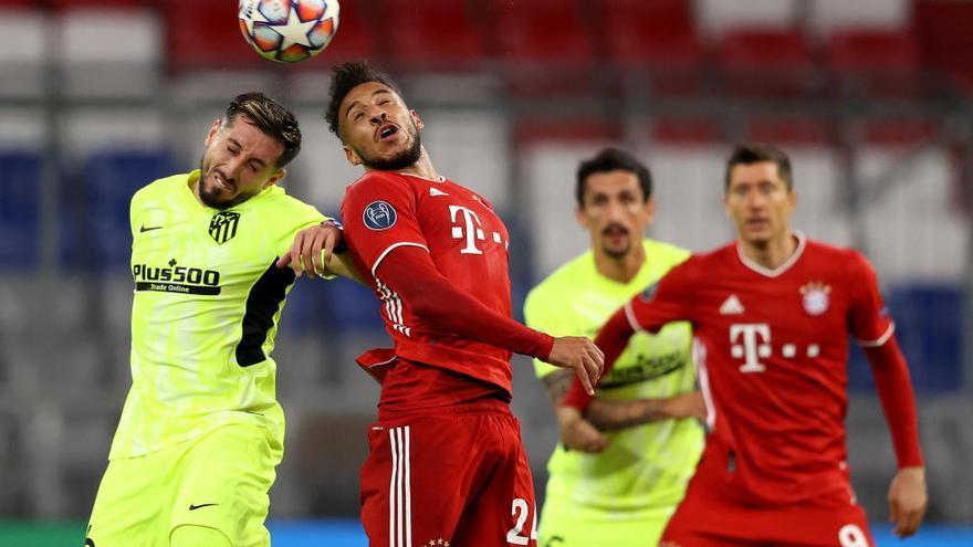 El Atlético sucumbe ante un Bayern que mantiene el aura de campeón