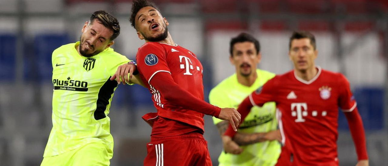 Las imágenes del Bayern de Múnich - Atlético de Madrid