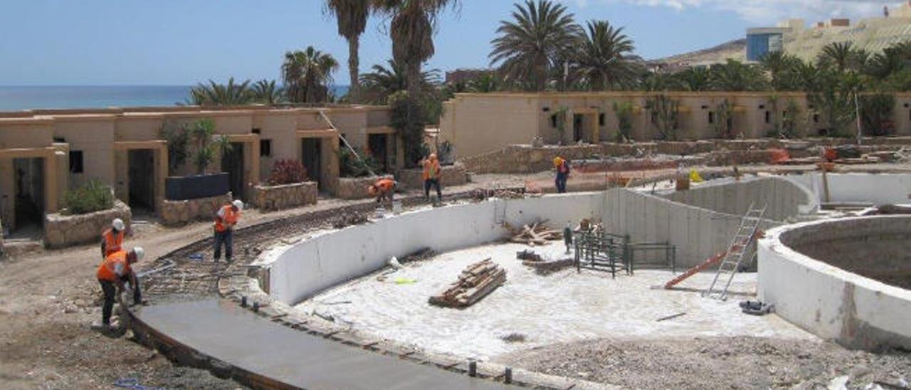 Dos hoteles apelan a sus 30 años de servicio para seguir en Costa Calma