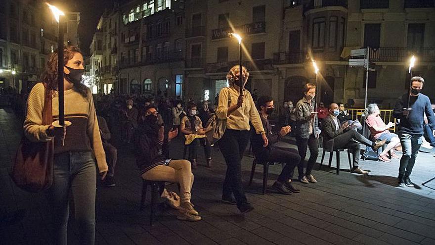 La Marxa de Torxes aquest any serà una concentració a la plaça Major
