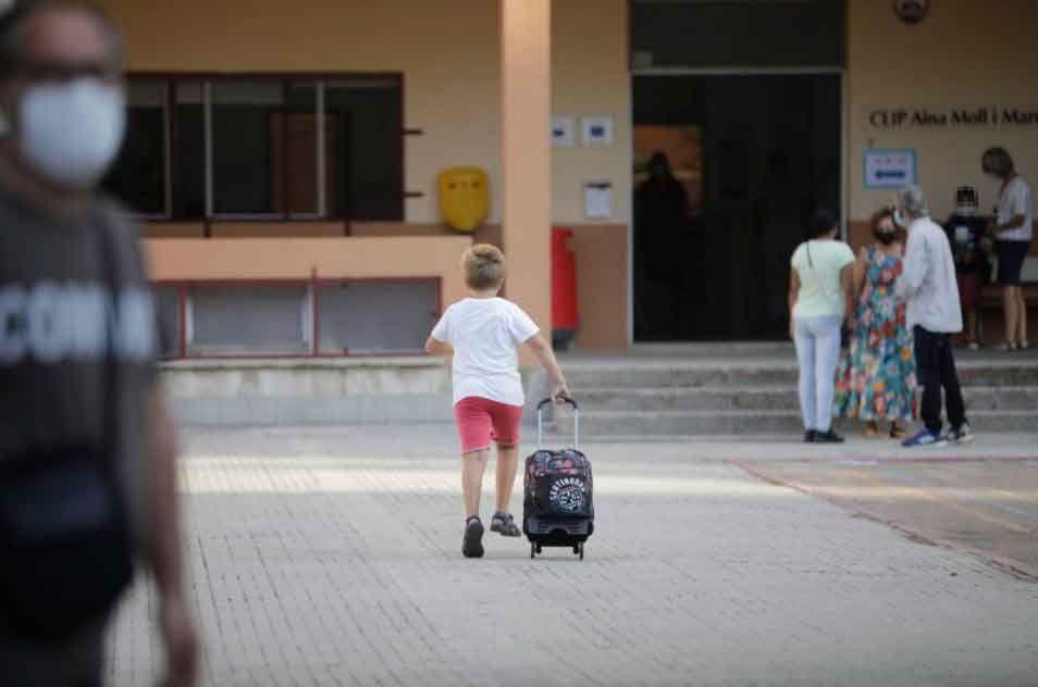Vuelta al cole en Baleares
