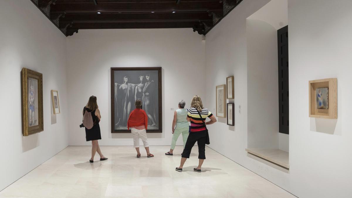 Imagen de archivo del Museo Picasso Málaga