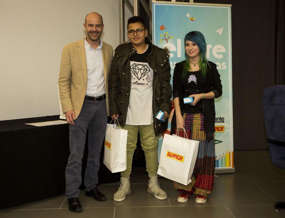 Entrega de premios del concurso 'El aire que respiro'