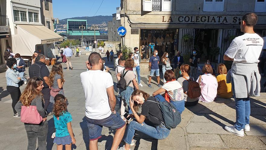 Sol y calor para despedir el puente del Pilar en Vigo