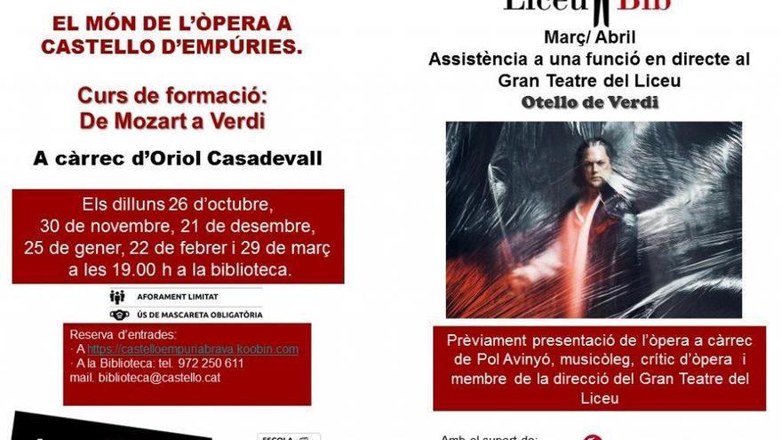 El món de l'òpera a Castelló d'Empúries