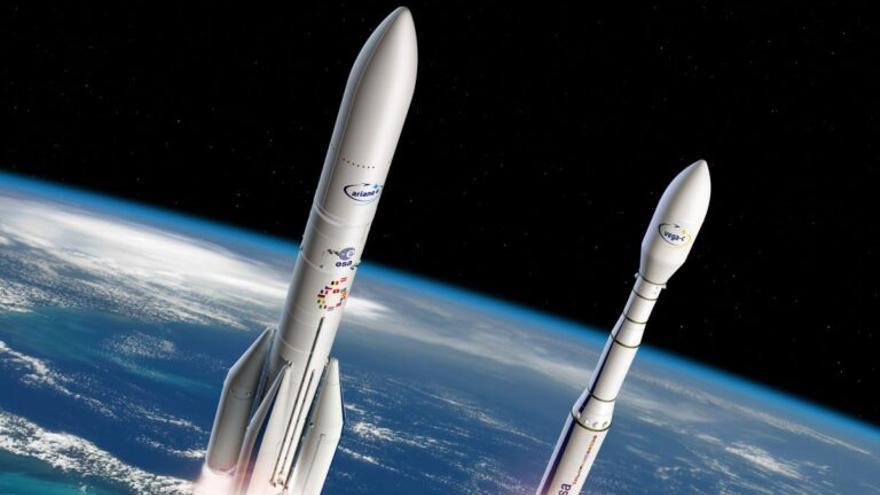 Europa se posiciona en el espacio con renovados cohetes de lanzamiento