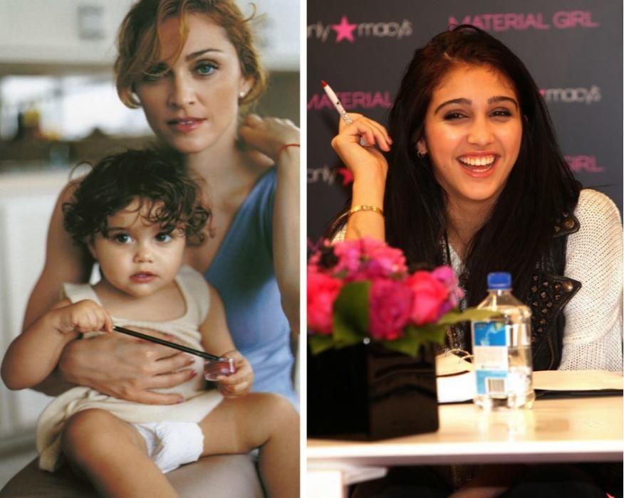 Otra de las hijas de Madonna.