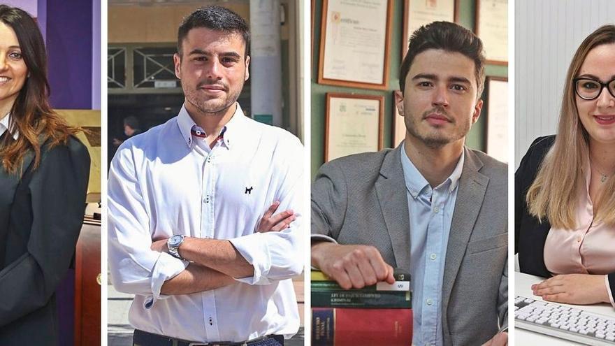 Esta es la situación que viven los abogados jóvenes en Alicante: trabajar sin cobrar o como falsos autónomos por 600 euros