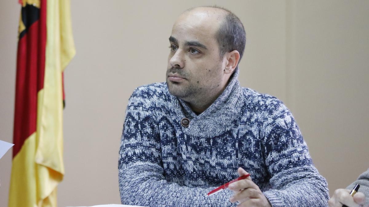 Eduardo Folgado Becerra, alcalde de Fuentesaúco