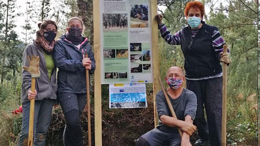 Adega promueve una acción a favor de la conservación de los murciélagos en el Sobreiral