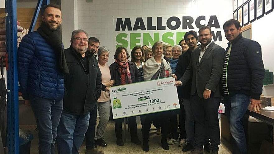 Mil euros para Mallorca Sense Fam