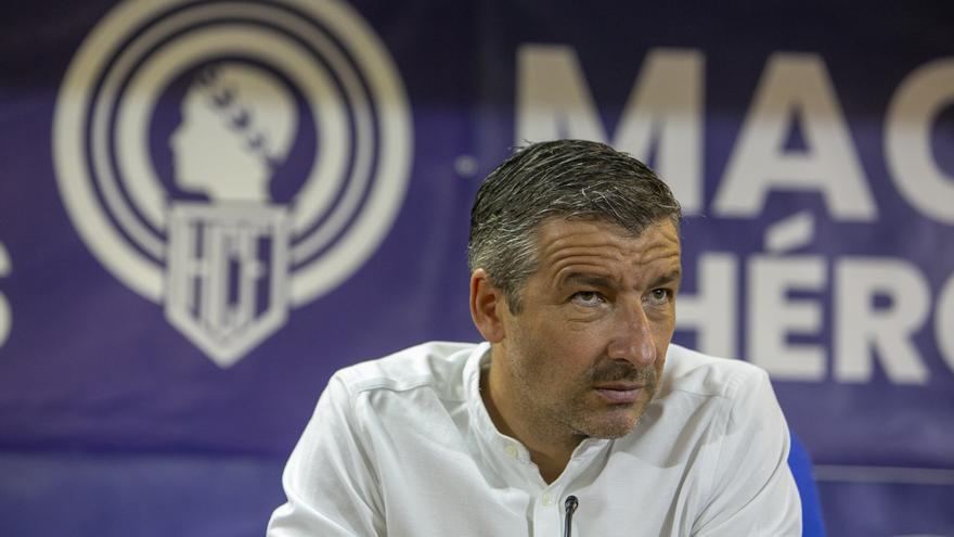 Cubillo no considera trascendente el partido en Ibiza
