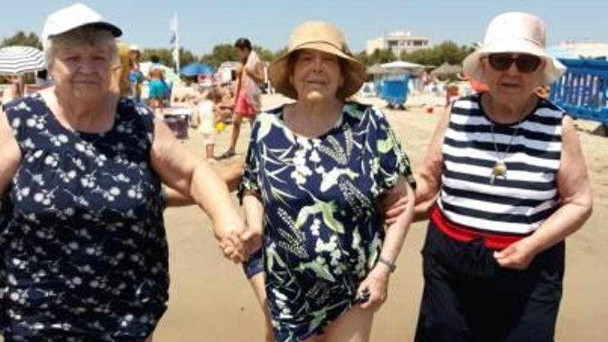 Visita a la playa de Pinedo