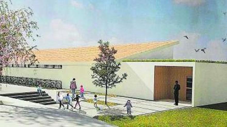 Castellcir tindrà una escola nova per donar cabuda a l'augment d'alumnes