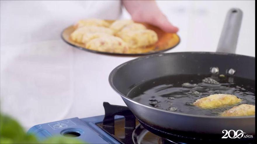 Receta de croquetas de salchichón Prolongo