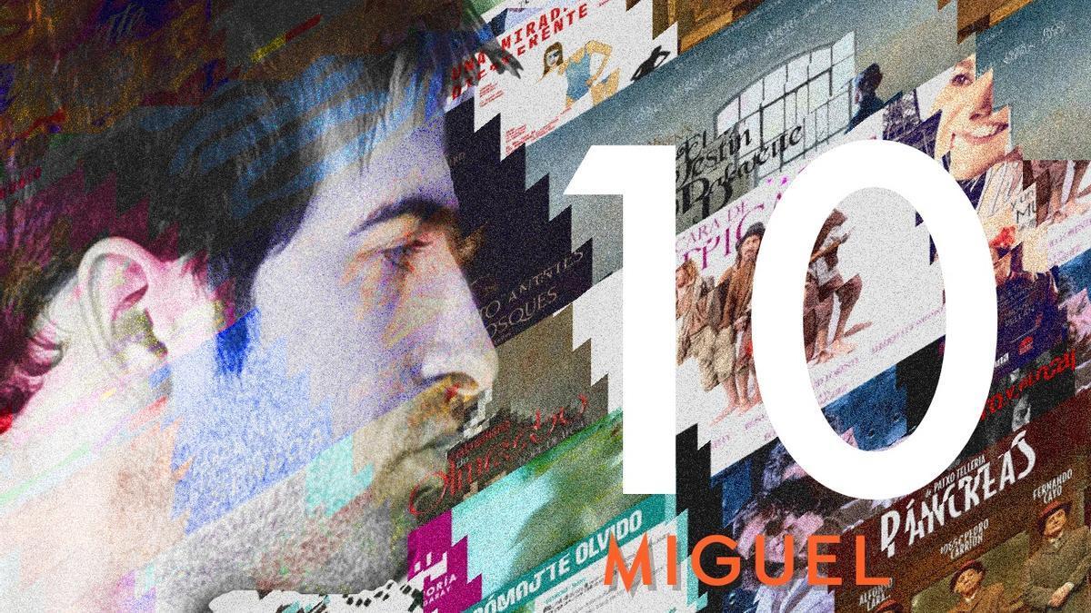 Carátula original del CD '10' de Miguel Linares.