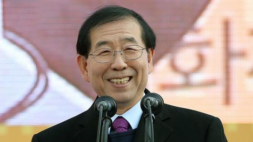 El difunto alcalde de Seúl dejó una nota de disculpa en su domicilio