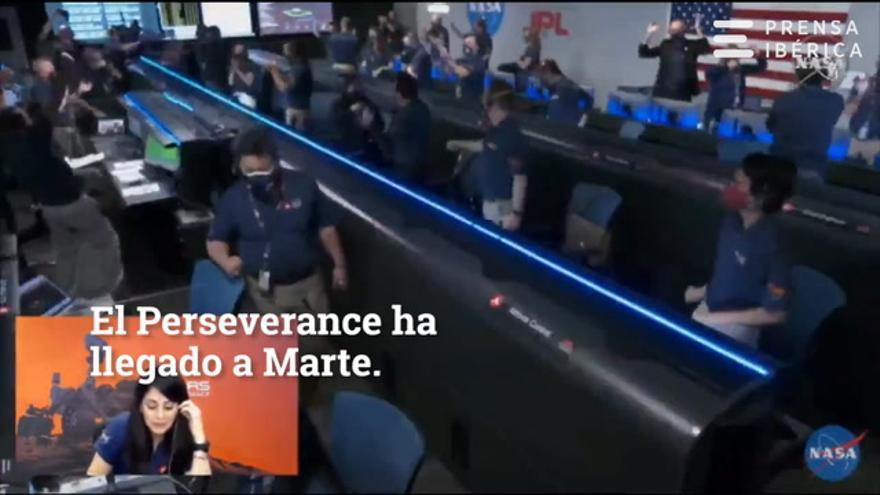 Llegada del 'Perseverance' a Marte