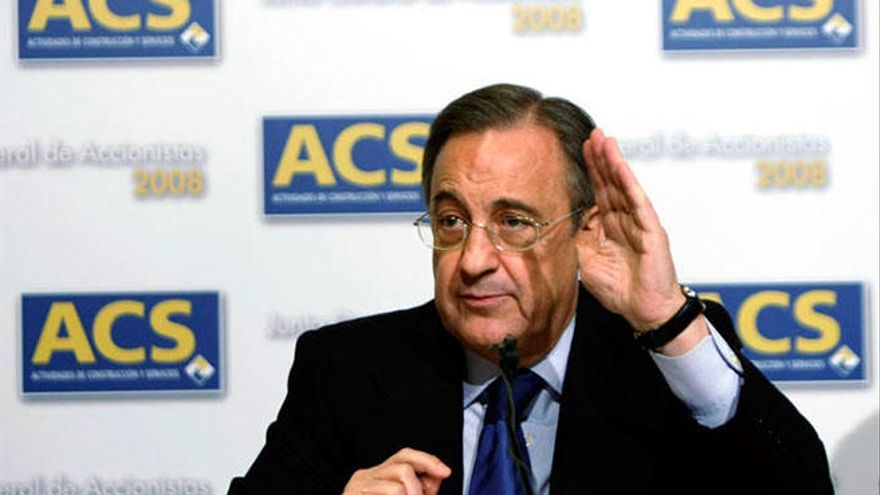 Florentino Pérez vende el 80% de sus acciones en Son Espases a un banco francés