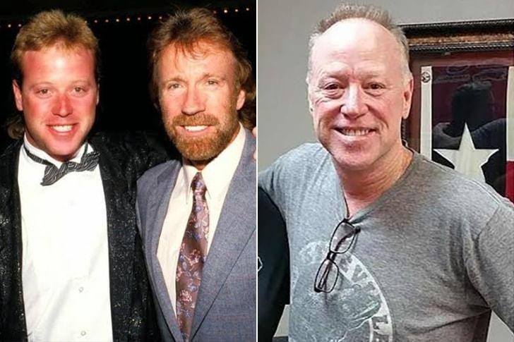 Los hijos de Chuck Norris. El de la derecha pasaría por su padre.