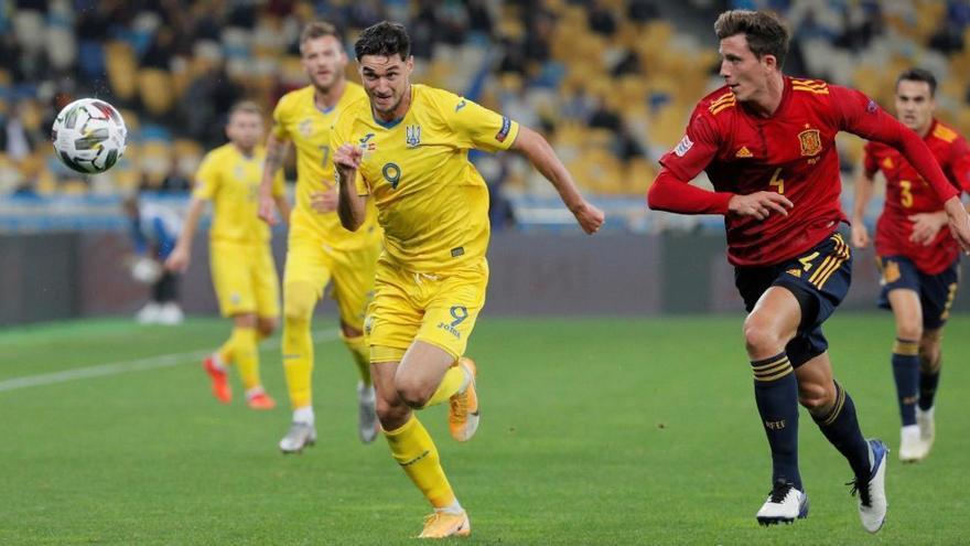Ucrania noquea a una España sin gol