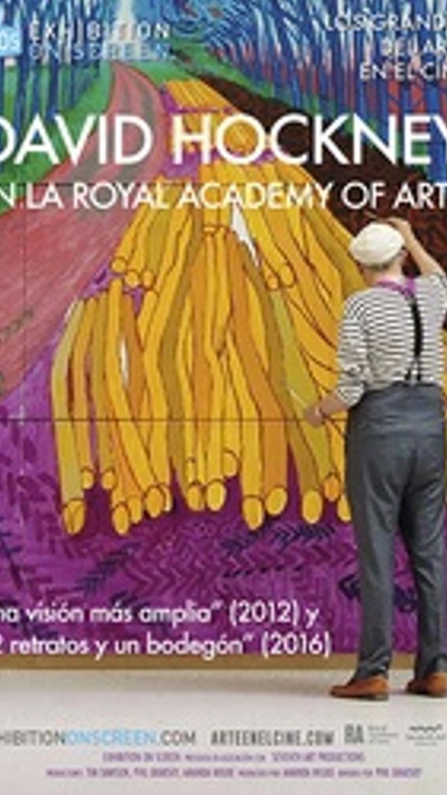 David Hockney en la Royal Academy of Arts