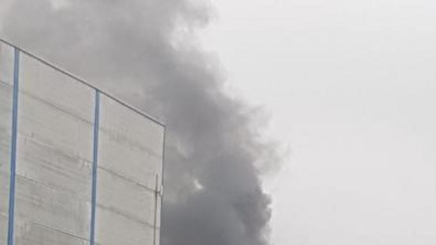 Incendio en El Sebadal