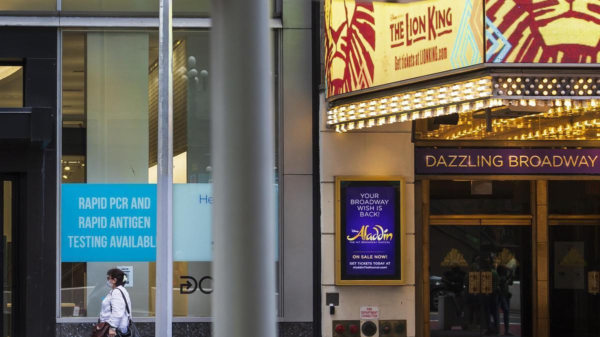 'El Rey León' y 'Aladín' devuelven la vida a Broadway.