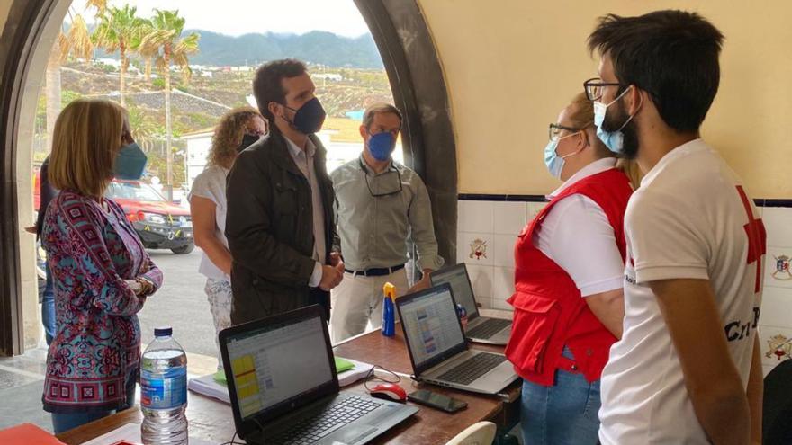"""Casado pide """"actuaciones rápidas"""" en la emergencia de La Palma"""