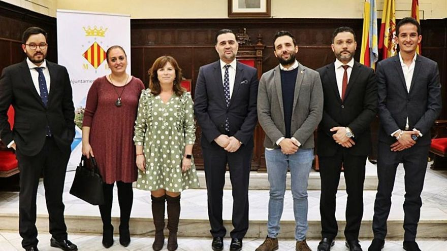 Visita a Sagunt del embajador de Libia en España