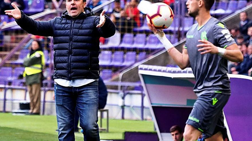 """Sergio: """"El Celta es un buen equipo que con Aspas se convierte en grandioso"""""""