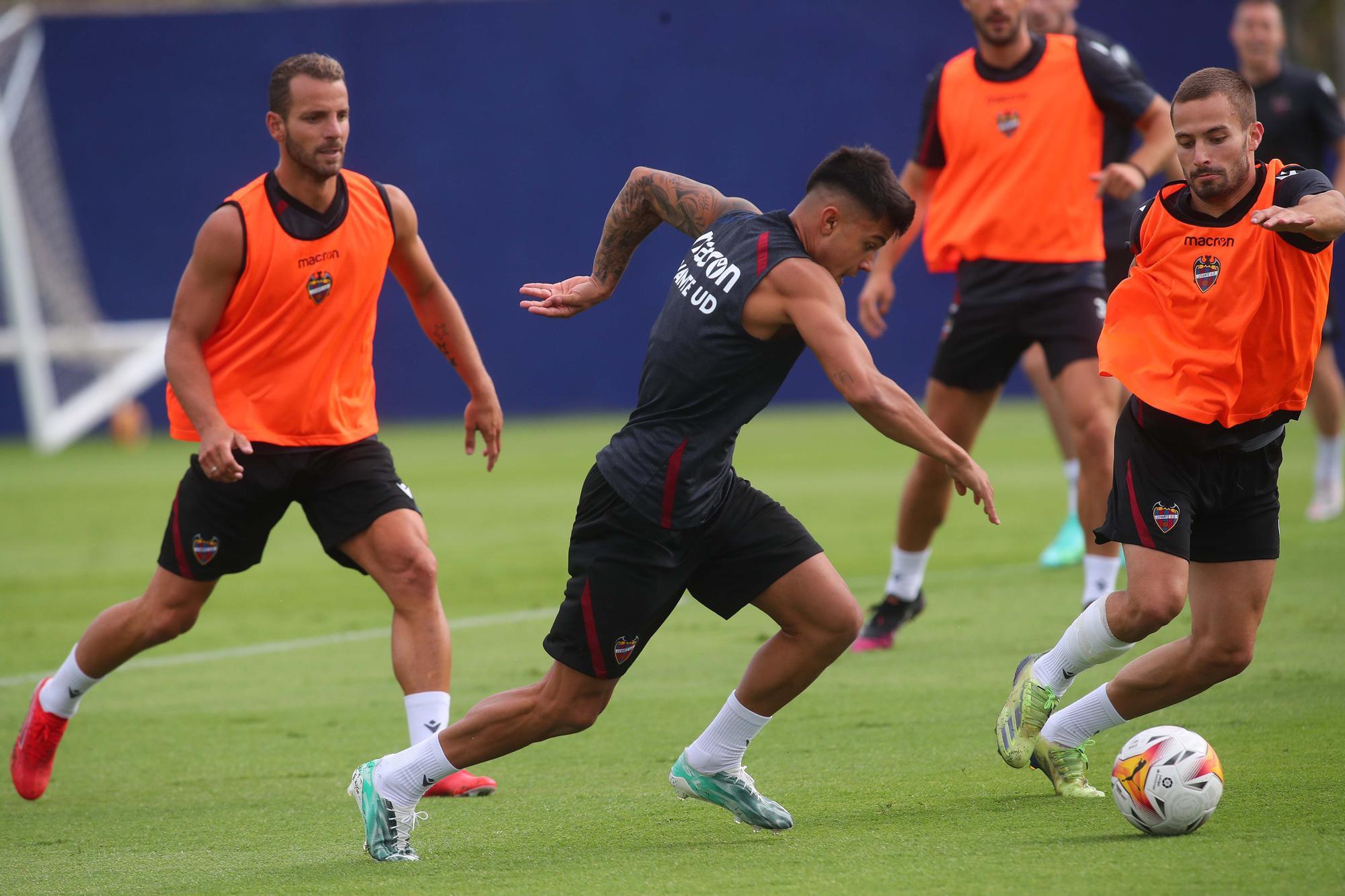 Así ha sido el entrenamiento del Levante UD de hoy