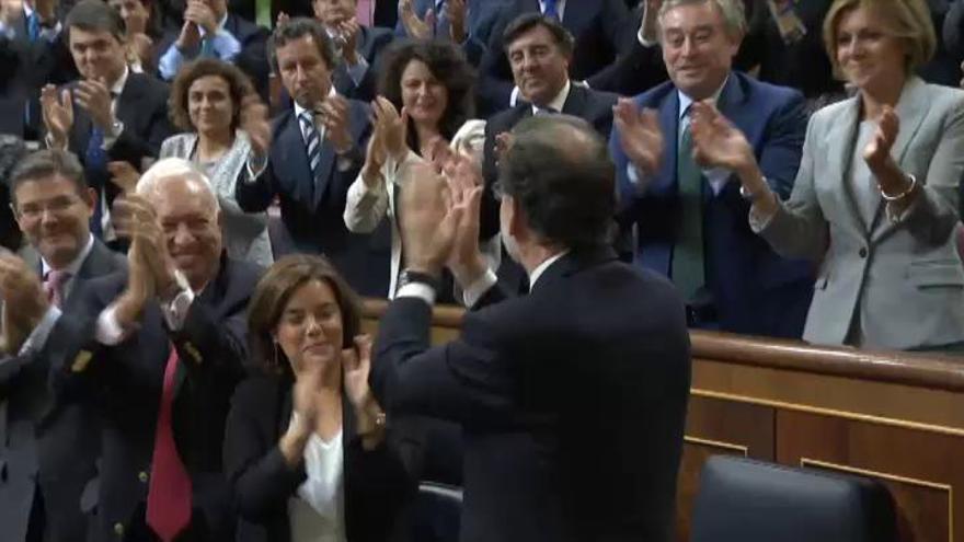 Rajoy, investido presidente tras diez meses de bloqueo