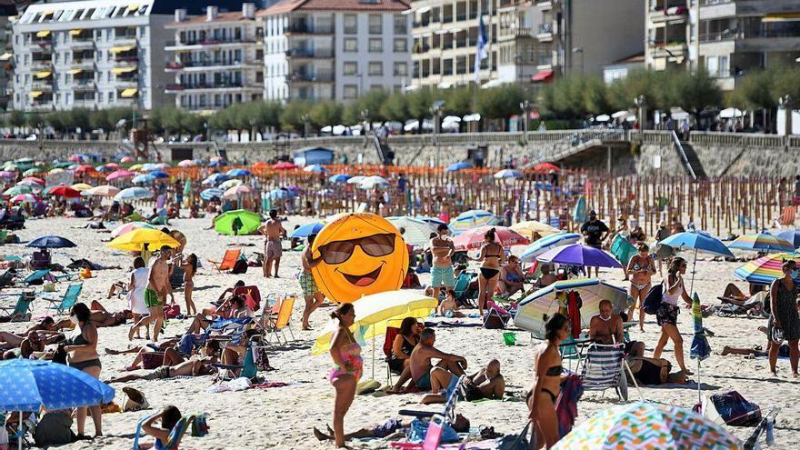 """Sanxenxo """"exhibe músculo"""" turístico al alcanzar en agosto un 65,5% de ocupación"""